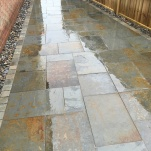 Brazillian Multi Slate Patio