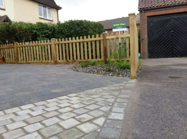 Feature driveway