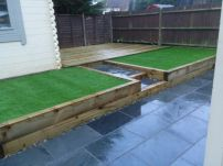 Sleepers and Artificial grass